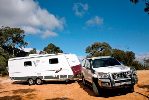 The A'van Jenna HT 624 caravan is made for family adventures.