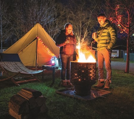 A new glamping experience north-east of Melbourne revives childhood memories of nights under the sta