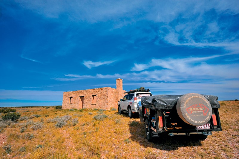 The 4x4 Deluxe Tourer is Trackabout's entry level trailer.
