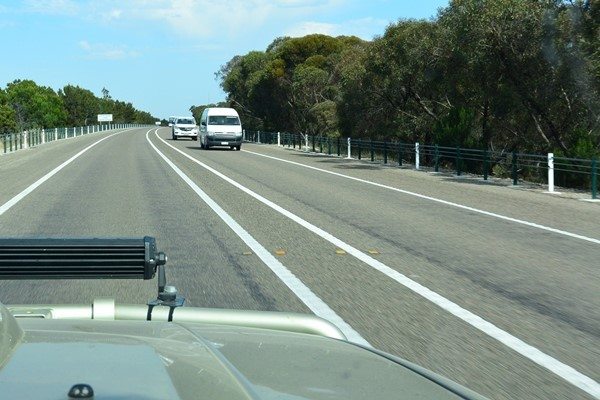 Painted median strips of at least 1m-wide would improve road safety, says Ron Moon.
