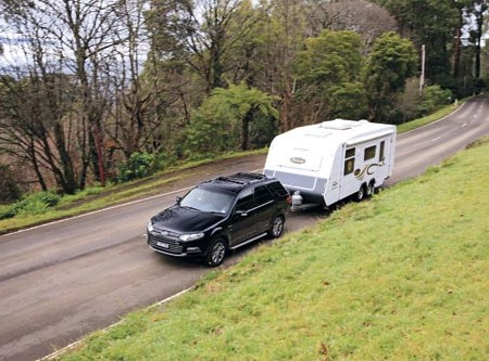 The Carrington CC 19-2 is Coronet's top-end model. It has a shower and comes as a standard caravan o