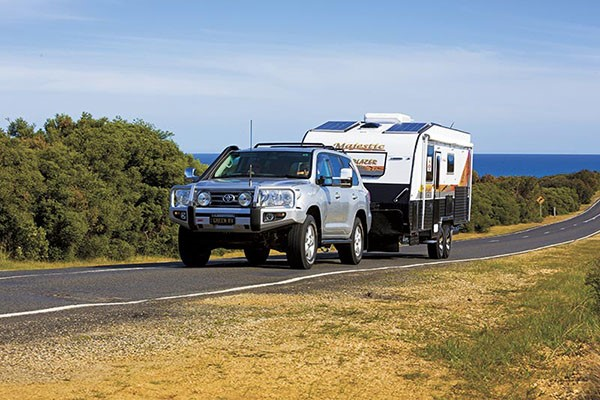 Caravan production is on the rise in Australia