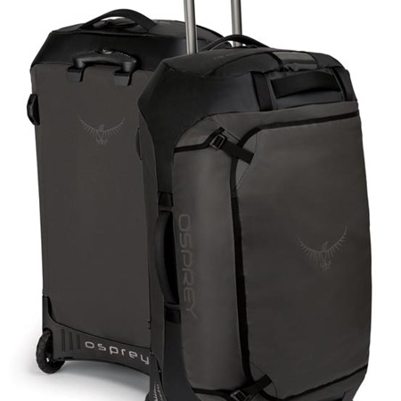 Say goodbye to bulky and cumbersome luggage, thanks to the new Transporter Wheeled Duffel from Ospre