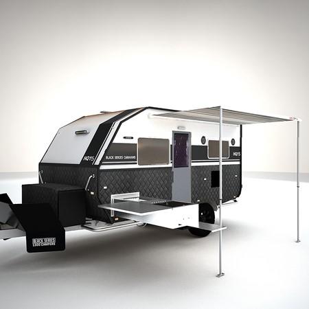 The new Black Series HQ15 caravan.