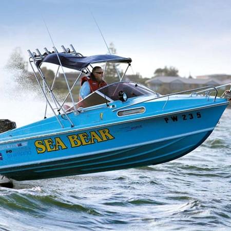 Haines Hunter V17L boat