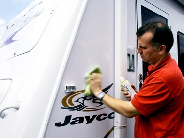 DIY detailing on your caravan/motorhome
