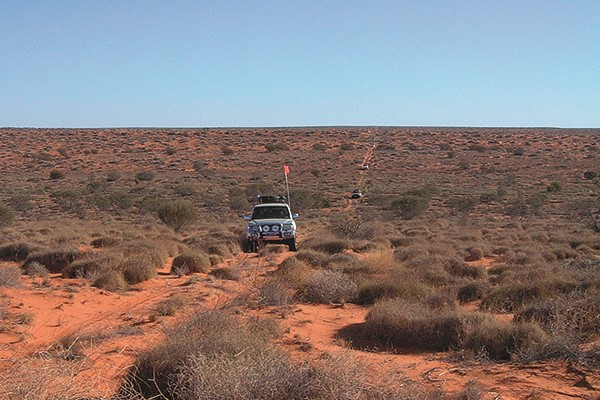 Travellers need to seek permission to access many of the tracks passing through the Simpson Desert