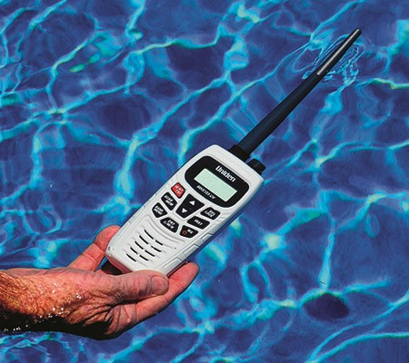 The Uniden MHS155UV dual band VHF/UHF hand-held radio is the first dual band radio available in Aust