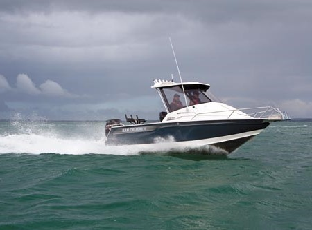 The Bar Crusher 615HT Gen2. The 610 was already a damn fine boat.