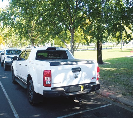 Regular drivers who hog long-vehicle parks meant for rigs towing campers are being selfish, writes K