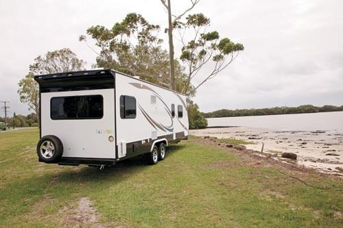Talvor 750C. American caravan built to Australian Standards.