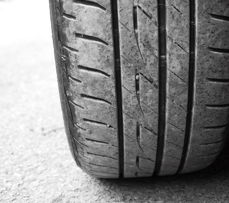 Bald tyres have a dramatic affect on driving and towing safety.