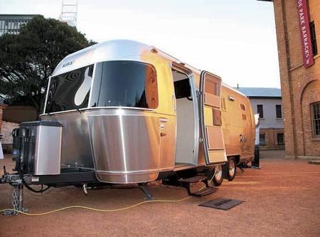 Vintage caravans: American Airstream caravans now available locally