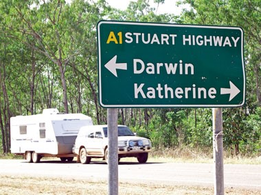 RV Travel: On Darwin's doorstep