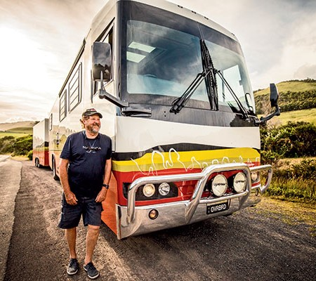 Life in a luxury custom motorhome