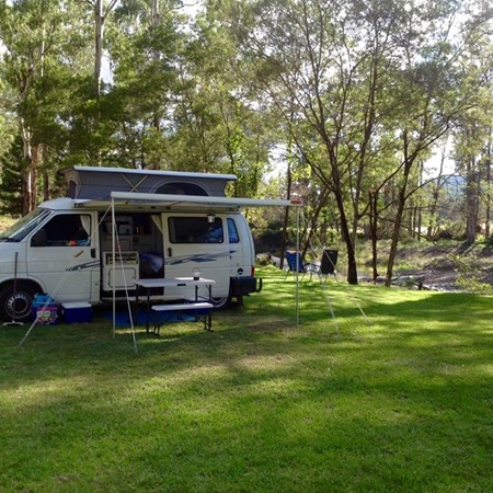 Camp at very little cost with the CMCA's Member Stop Over scheme.