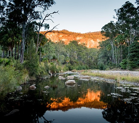 Beautiful Carnarvon Gorge is easier to access for caravanners on a long-haul.