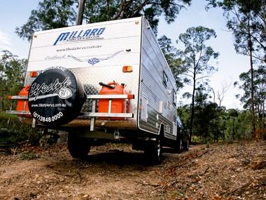 Millard Outback pop-top