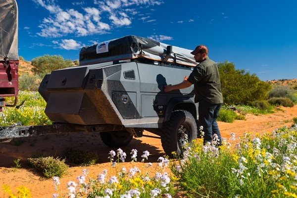 The new Terra Trek Australia EXP prototype camper.