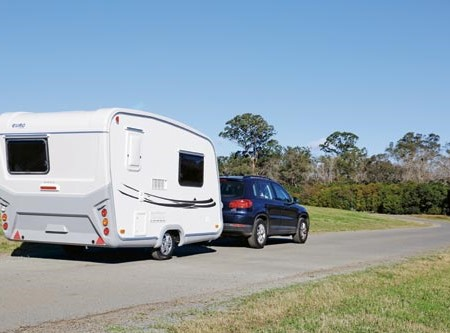 The lightweight new Euro Caravans NR Freedom