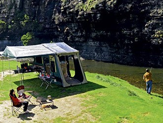 Red Rock Traveller Semi Off Road camper trailer