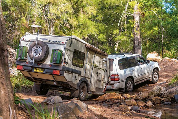 Hybrid campers deliver the luxuries of a caravan to almost anywhere in Australia
