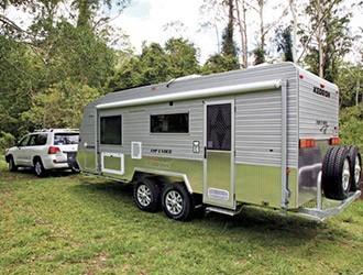 Kedron TopEnder caravan