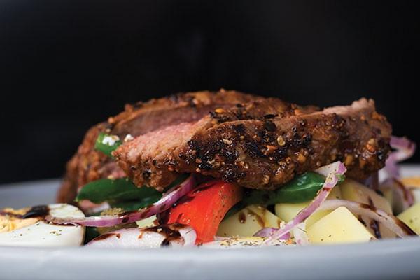 Lamb Rump with Nicoise Salad