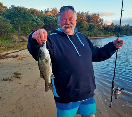 A fishing mission: Catching the estuary perch