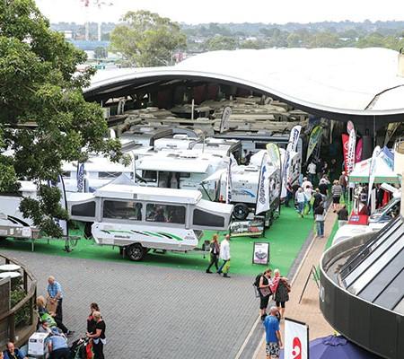 Caravan exhibition
