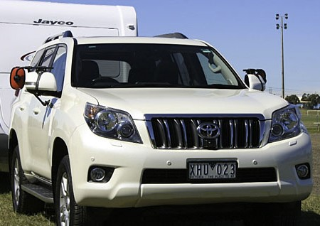 Towing test: Toyota Prado Kakadu