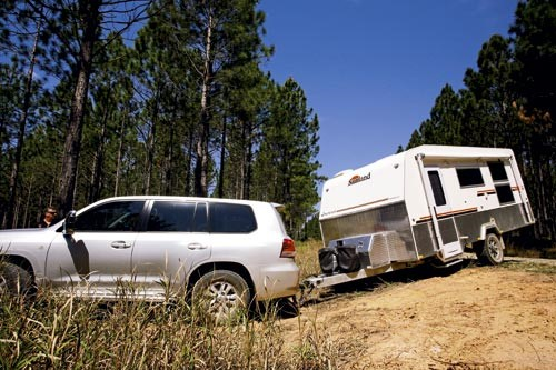 The Sunland Caravans Longreach Series III is an off-road rig that's lighter and shorter than the nor