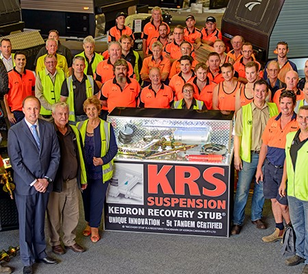 Kedron's suspension recovery kit has launched after five years of development.