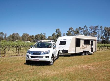 Avida Sapphire caravan