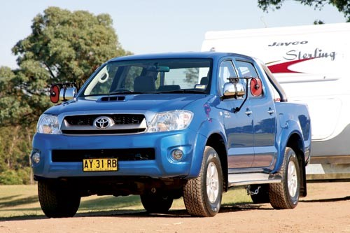 Tow test: Toyota HiLux