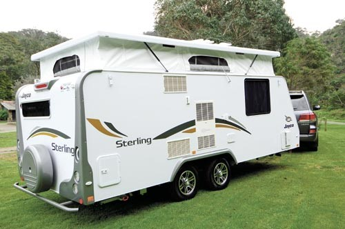 The Jayco Sterling 17.55-3 caravan offers quality for the budget-minded RVer.