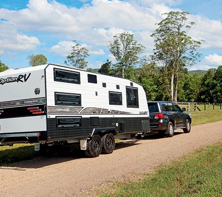 Option RV Tornado Equippe Family