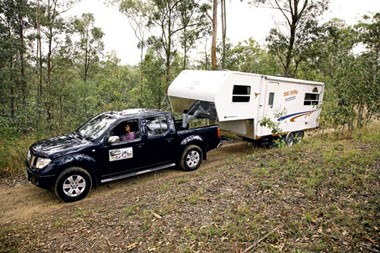 Tow test: Holden Colorado