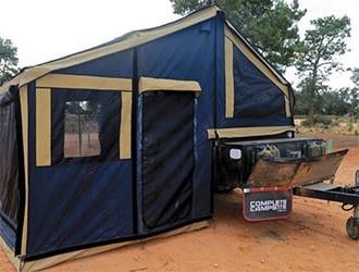 Complete Campsite Jabiru softfloor camper