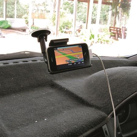 Mobile GPS backdown