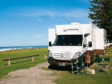 The Paradise Motorhomes Inspiration Ultra ready for the road.