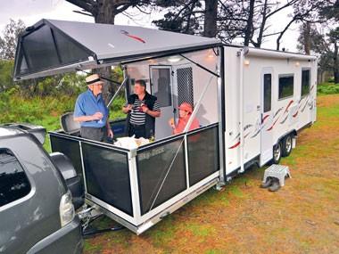 Blog: Balcony living... in a van?