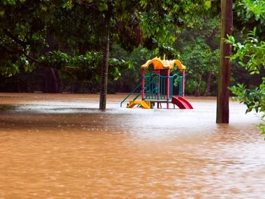 Van parks struck by further flooding