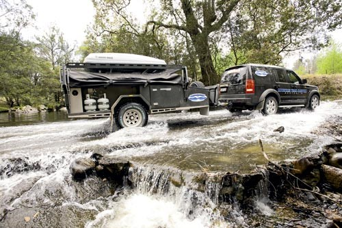 Based in the NSW town of Albury, Mountain Trail Campers makes luxuriously styled offroad camper trai