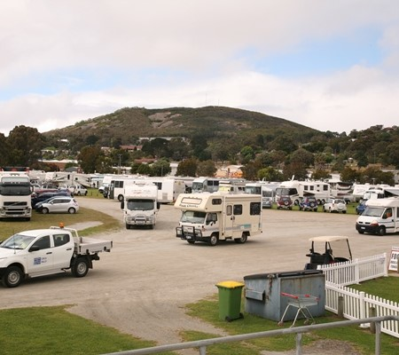 This year's CMCA national rally was held in Albany, WA.