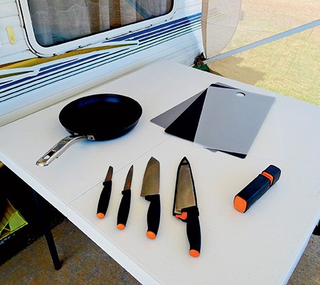 Fiskars caravan kitchen products