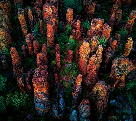 The Southern Lost City chiselled into the Arnhem Land Plateau NT
