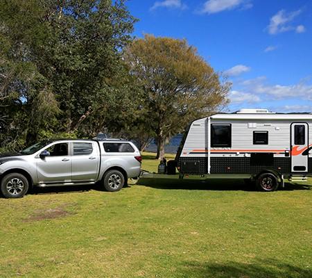 Concept Innovation 550R caravan exterior