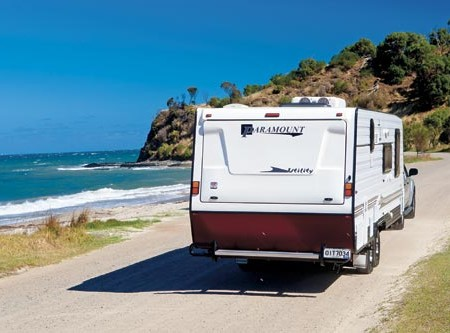 The Paramount Utility caravan offers the best of both style and function.