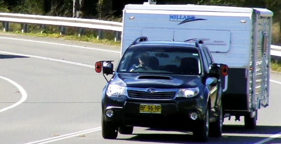 Tow test: Subaru Forester